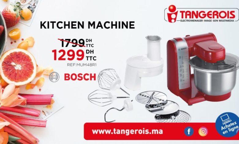 Photo of Promo Tangerois Electro Kitchen machine Bosch 1299Dhs au lieu de 1799Dhs