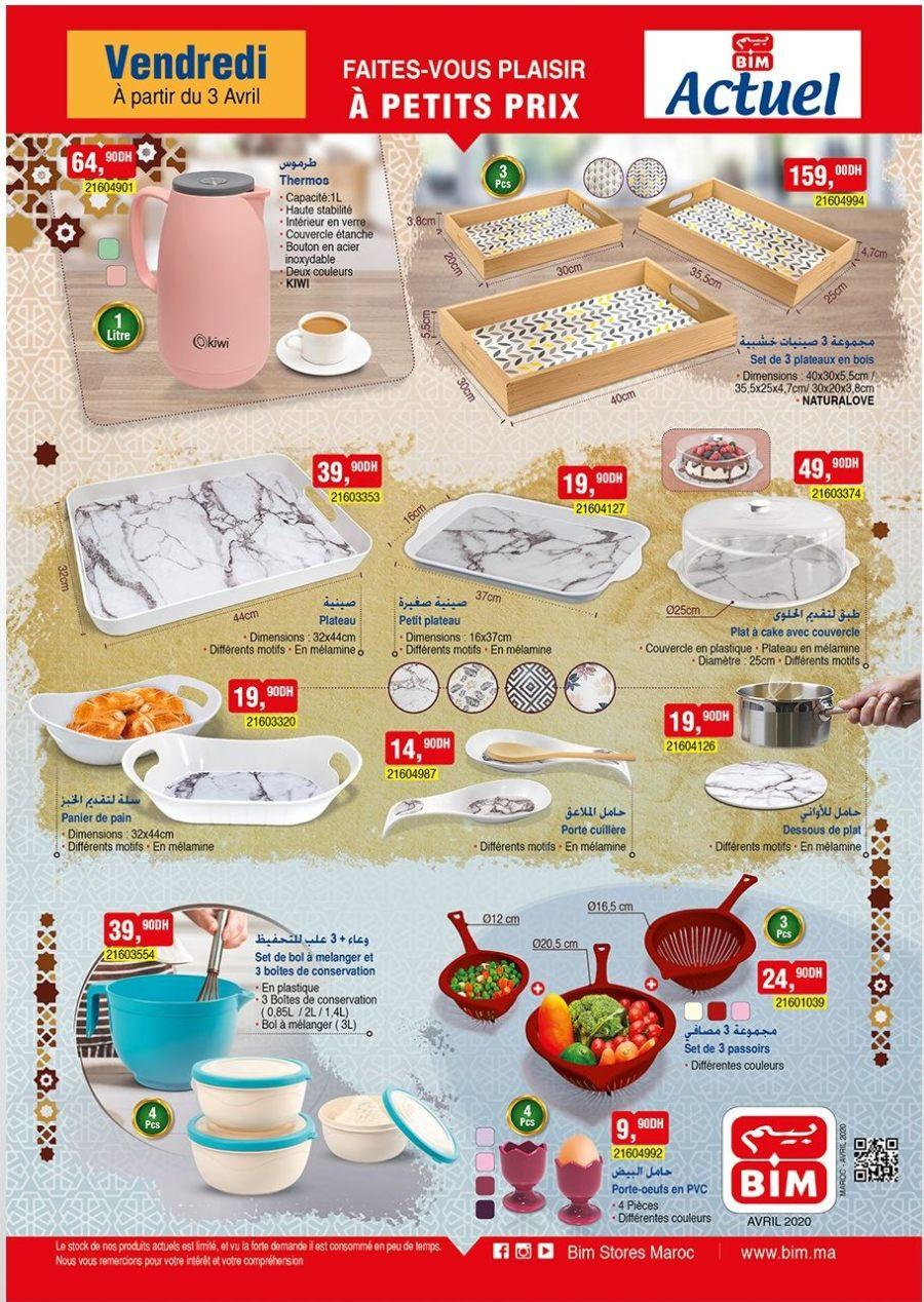 Catalogue Bim Maroc du Vendredi 4 Avril 2020