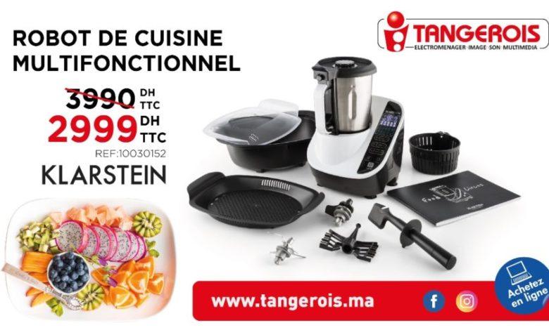 Photo of Promo Tangerois Electro Robot cuisine Multifonctionnel KLARSTEIN 2999Dhs au lieu de 3999Dhs
