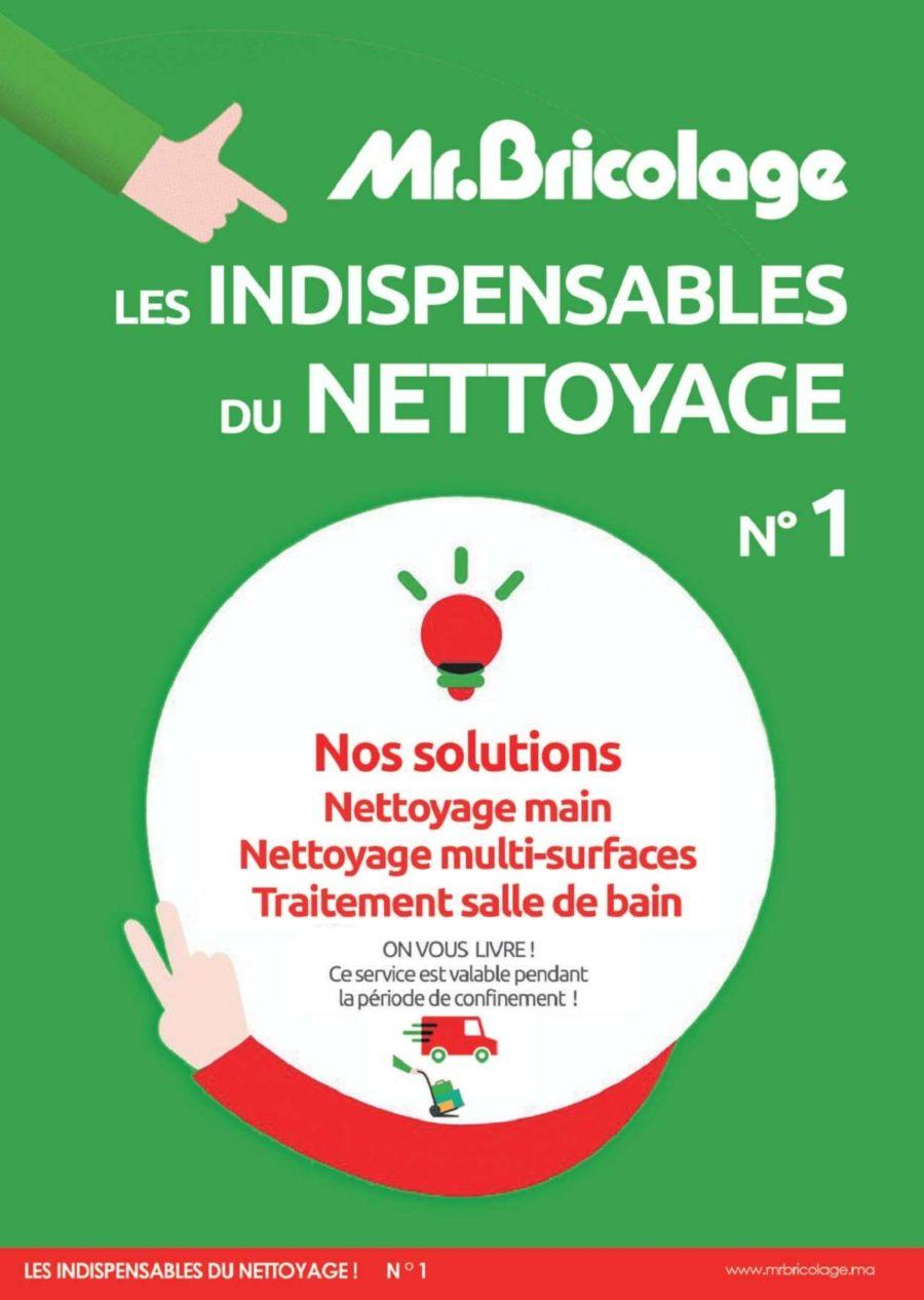 Catalogue Mr Bricolage Maroc les Indispensables du Nettoyage Avril 2020