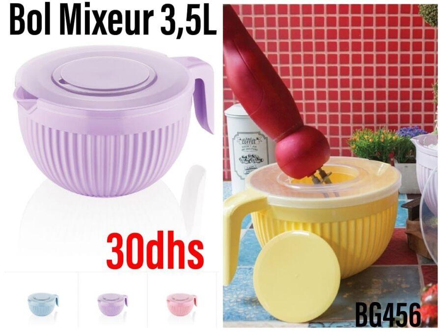 Nouveayu chez Saga Cuisine Bil mixeur 1.5L Divers Coloris 30Dhs