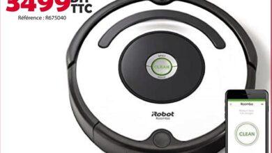 Nouveau chez Tangerois Electro Robot Aspirateur iROBOT à partir de 3499Dhs