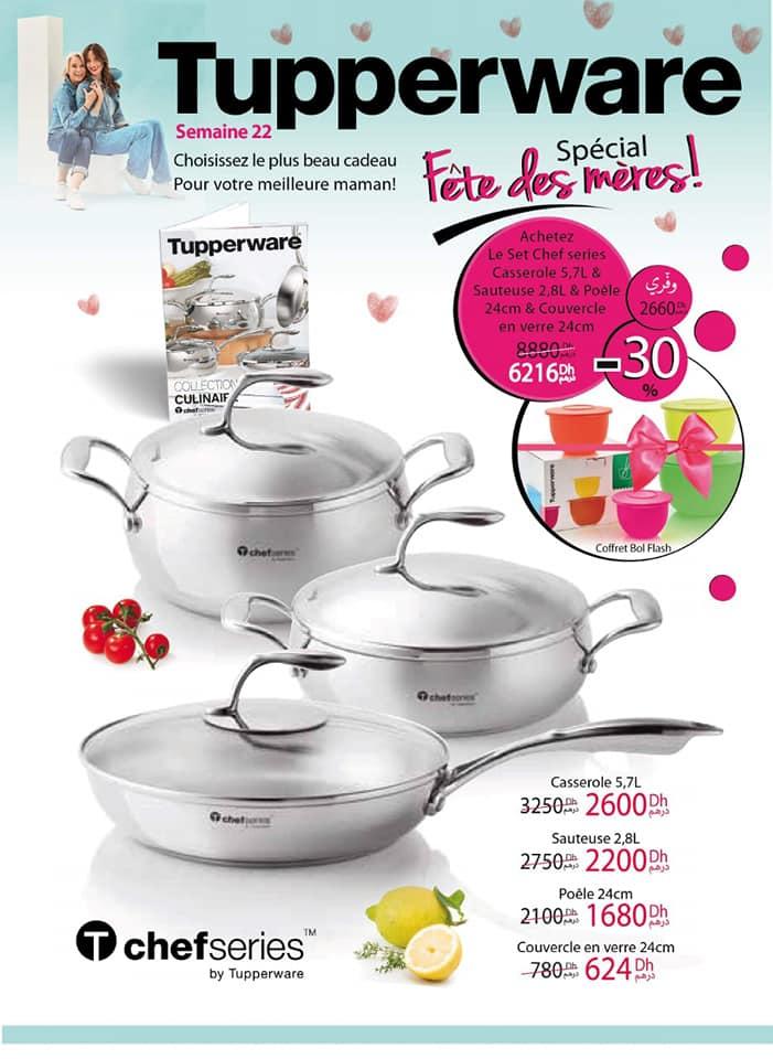 Catalogue Tupperware Maroc Spéciale fête des mères de la Semaine 22