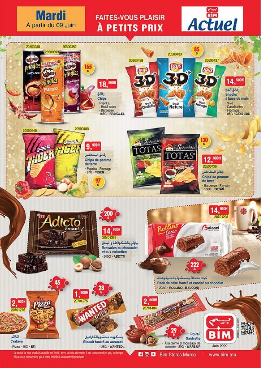 Catalogue Bim Maroc Spéciale Biscuit et Gaufrette du Mardi 9 Juin 2020