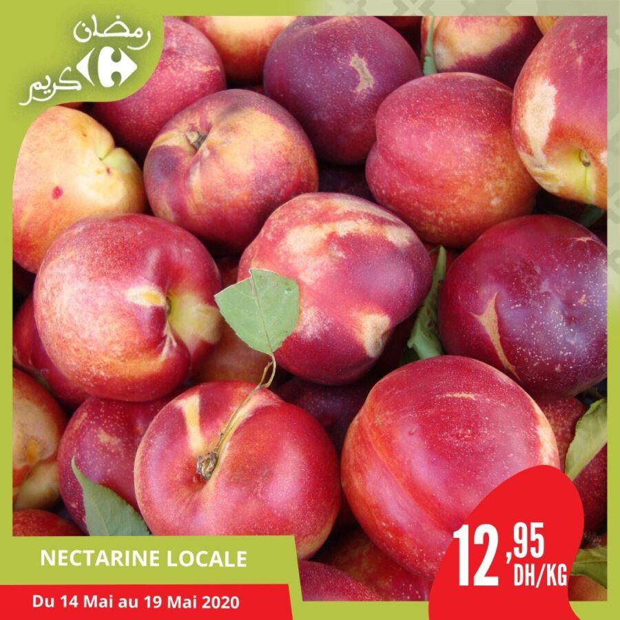Offre pour les Fruits et légumes de la saison chez Carrefour Market Maroc