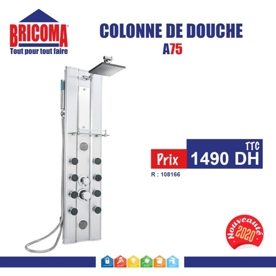 Offre chez Bricoma Colonne de douche à partir de 1490Dhs