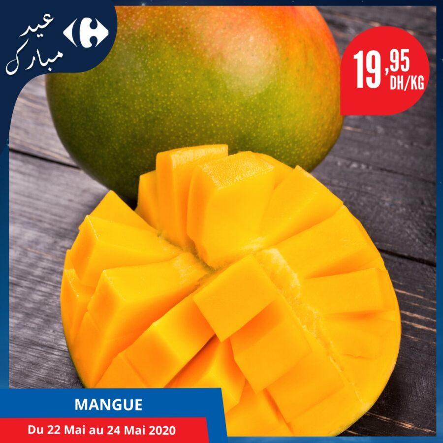 Offres Fruits et légumes chez Carrefour Maroc du 22 au 24 Mai 2020