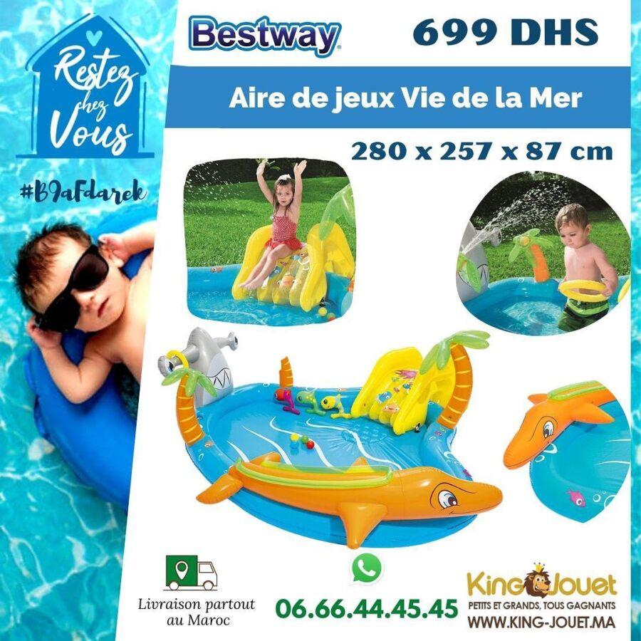 Offre Spéciale chez King Jouet Maroc Air de jeux gonflables à partir de 349Dhs