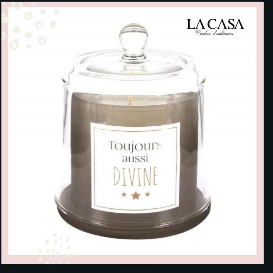 Offre LACASA Bougie parfumée avec cloche 4ass à partir de 99Dhs