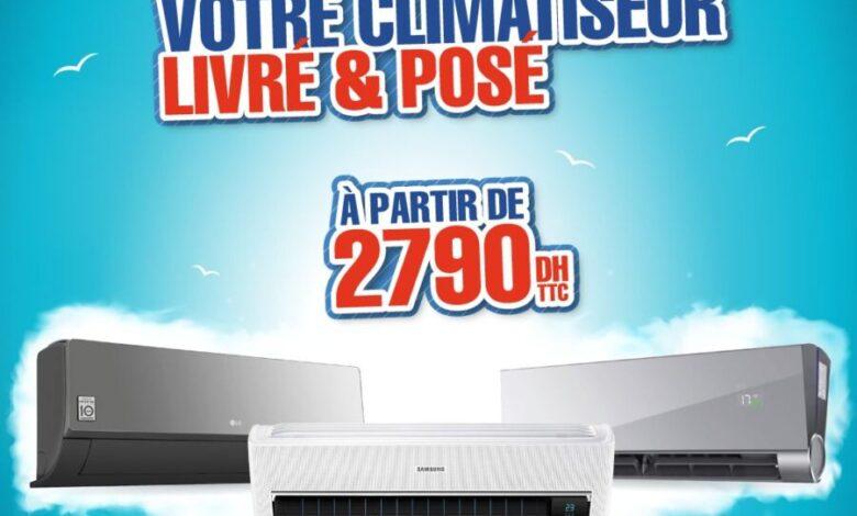 Photo of Promo Electro Bousfiha Climatiseur Livré et Installé à partir de 2790Dhs