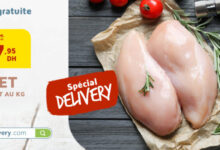 Spéciale Delivery chez AswakDelivery.com Filet de poulet au Kg 48Dhs au lieu de 65Dhs