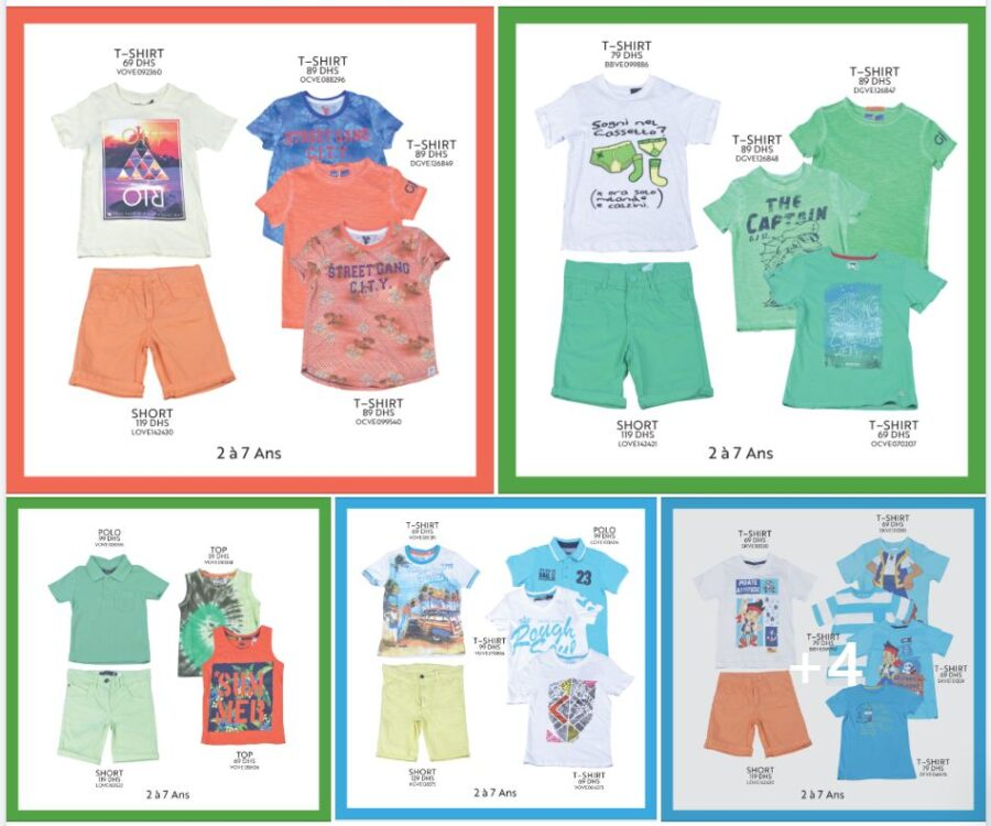Offre de l'3ide chez Miro Home Collection pour garçon de 2 à 7 ans