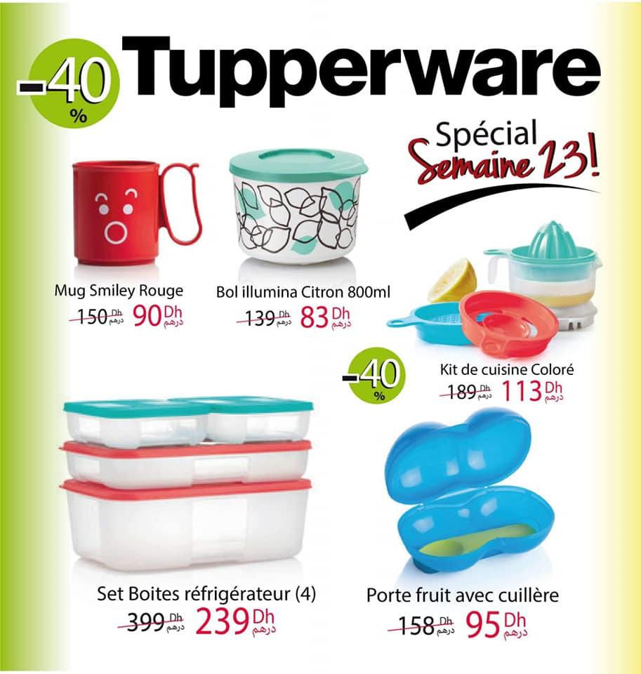 Catalogue Tupperware Maroc Spéciale Semaine 23 Jusqu'au 7 Juin 2020