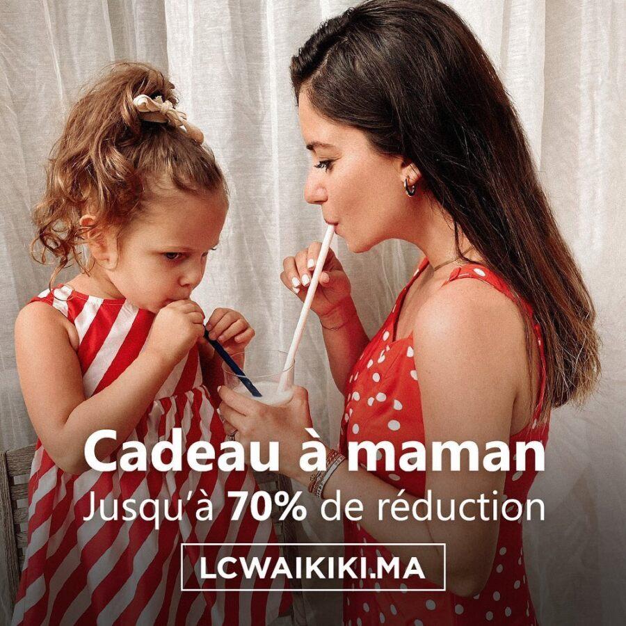Spéciale fête des mère chez LC Waikiki Maroc Cadeau à Maman Jusqu'à 70% de réduction