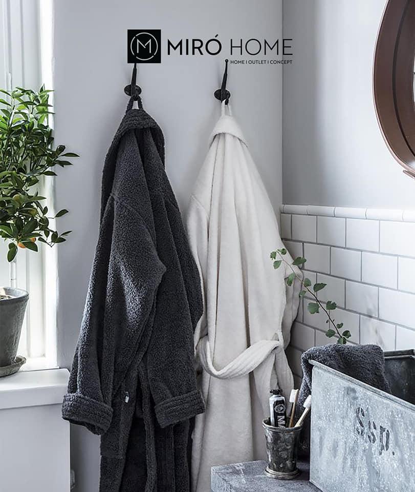 Nouvelle collection chez Miro Home Sortie de bain à partir de 169Dhs