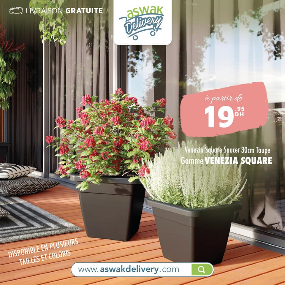 Offre Spéciale chez Aswak Delivery Pot divers taille et Gamme à partir de 11Dhs