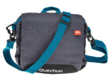 Soldes Decathlon Pochette Multi-Compartiments TRAVEL Gris FORCLAZ 49Dhs au lieu de 89Dhs