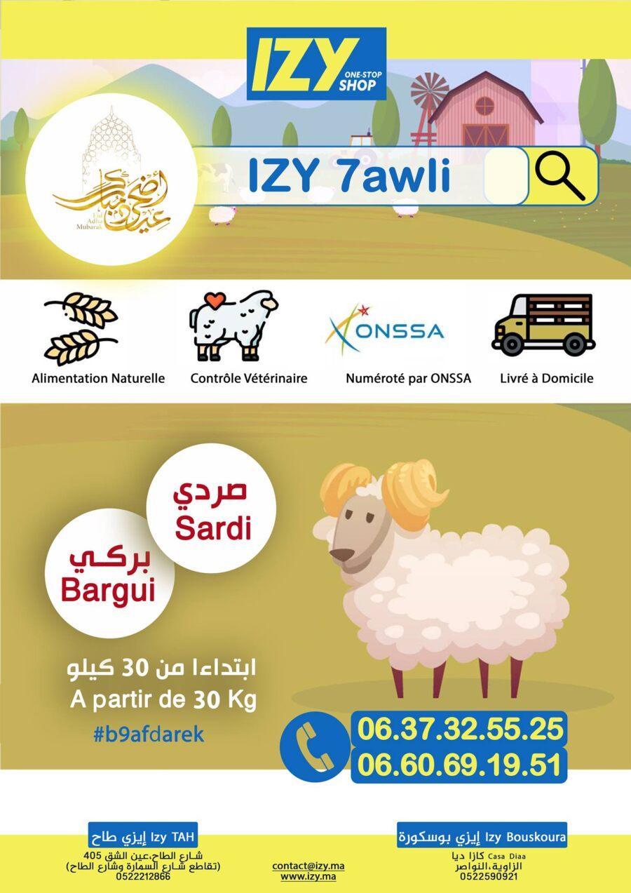 Catalogue Izy Shop Spéciale Al Aid عروض عيد الأضحى المبارك
