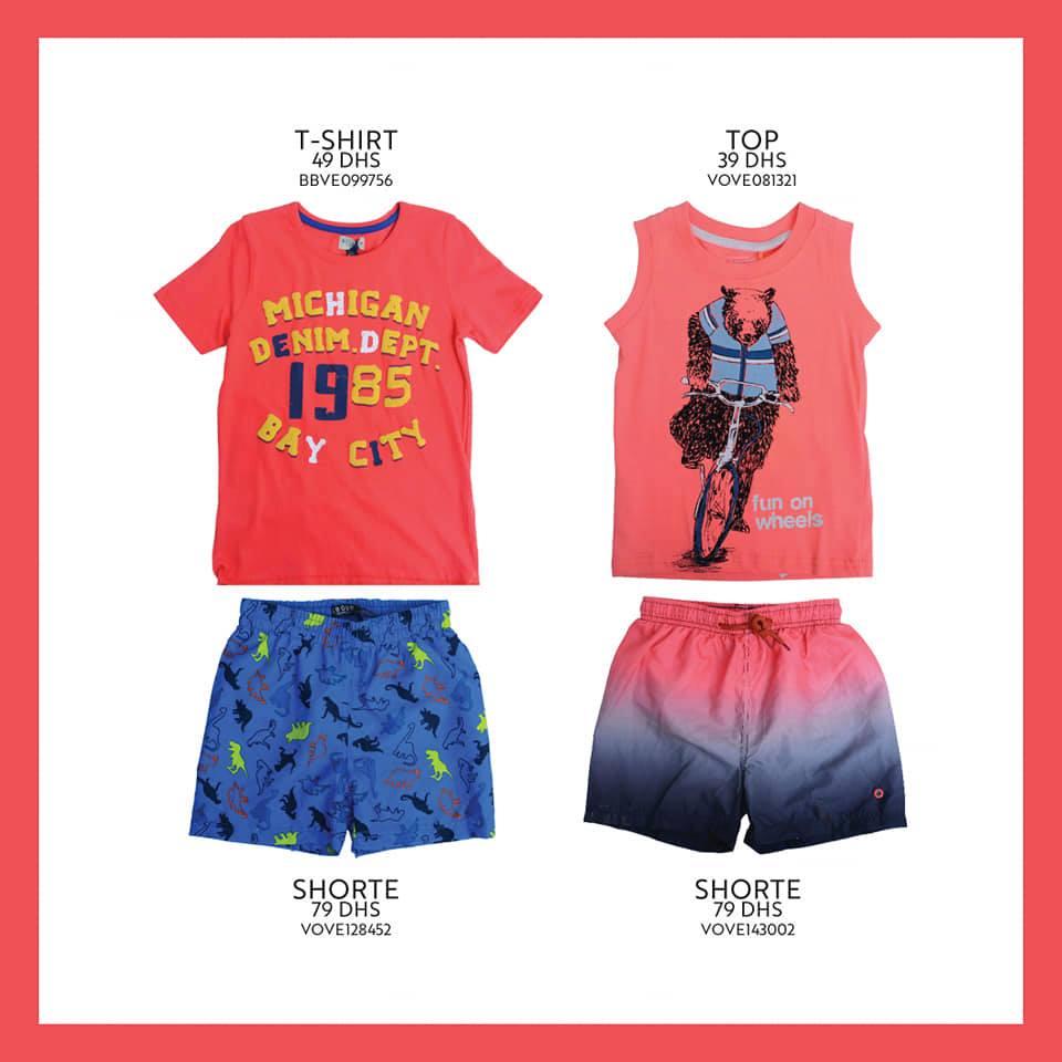 Nouvelle Collection chez Miro Home vêtements pour garçons de 2 à 16 ans