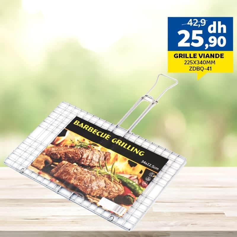 Offre Spécial chez Marjane Grille viande 25.90Dhs au lieu de 42.90Dhs