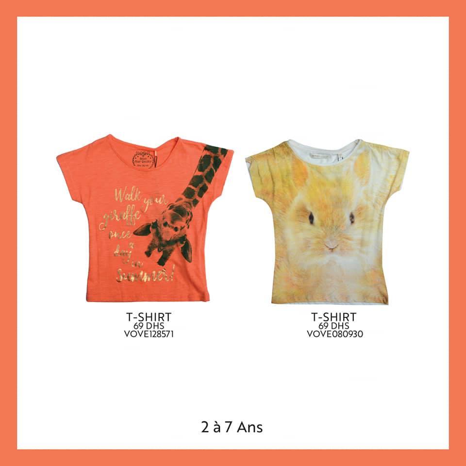 Nouvelle Collection pour filles chez Miro Home de 2 à 7 ans