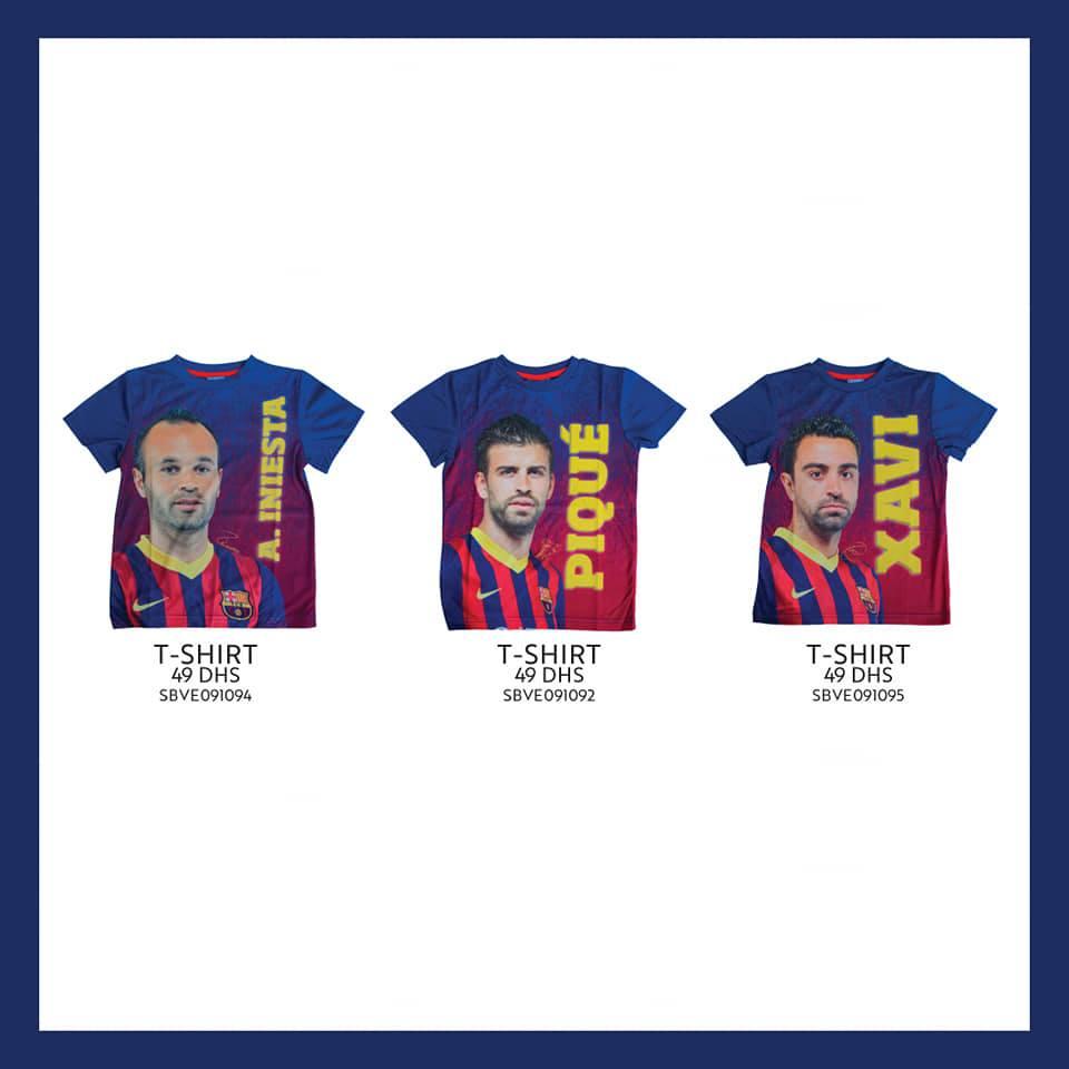 Nouvelle Collection chez Miro Home Tee Shirt divers coloris à 49Dhs
