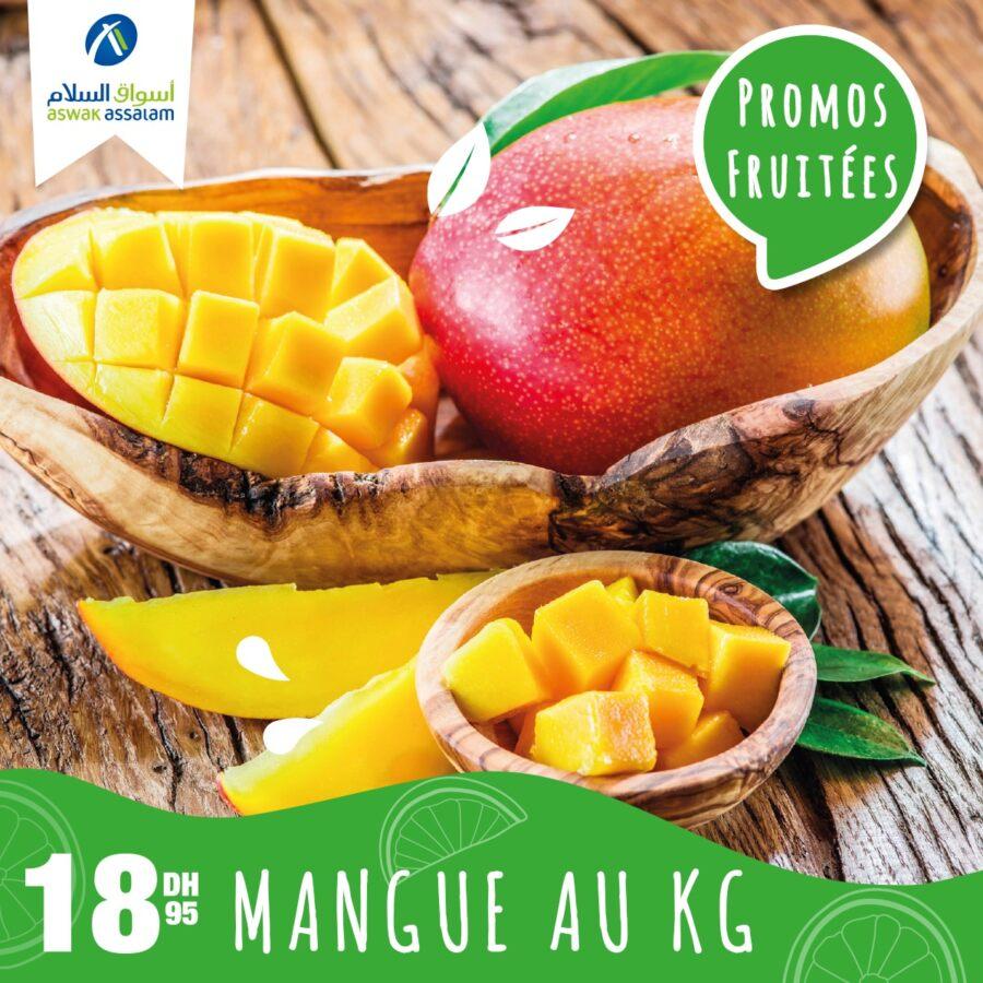 Offre Spéciales Fruitées Aswak Assalam Offres valables jusqu'au dimanche 12 juillet