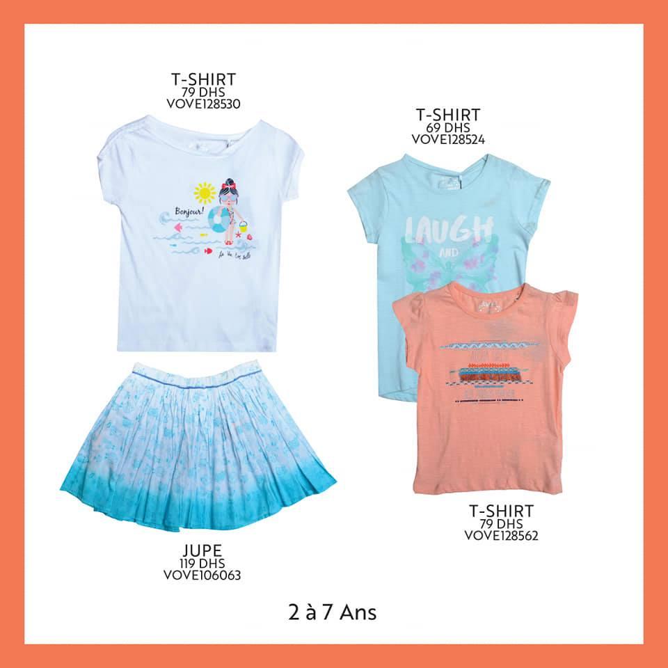 Nouvelle collection de vêtements pour fillettes de 2 à 7 ans chez Miro Home