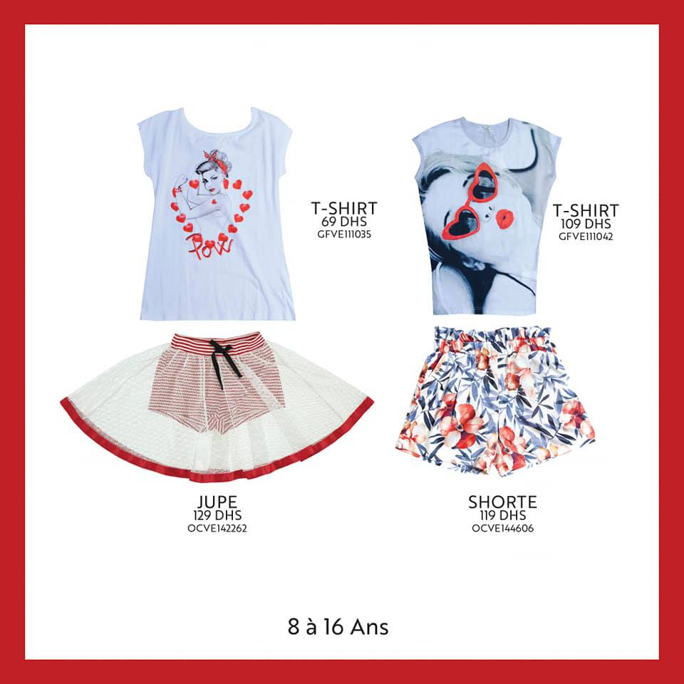 Nouvelle Collection pour fille de 8 à 16 ans chez Miro Home