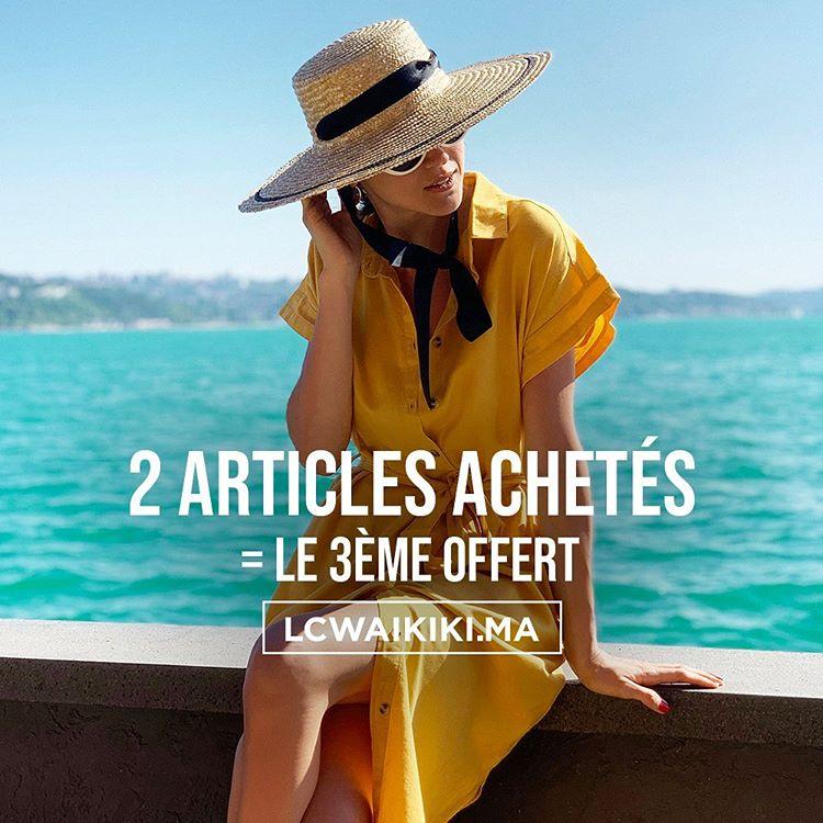 Offre surprise pour l'Aïd Achetez 2 articles et obtenez le 3ème chez LC Waikiki Maroc