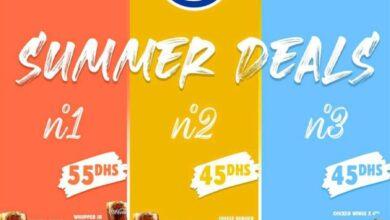 Photo de Offre Summer Deals chez Burger King du 26 Août au 13 Septembre 2020