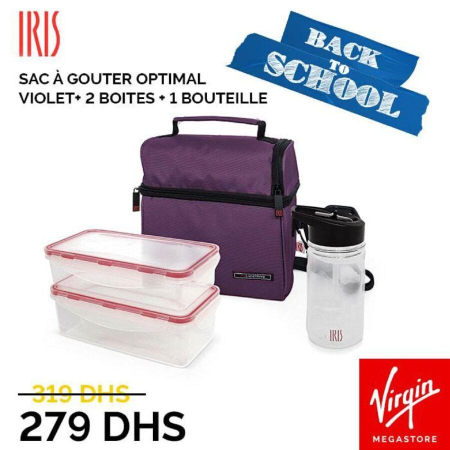 Offre Back to School Virgin Megastore Maroc du 20 Août au 15 Septembre 2020