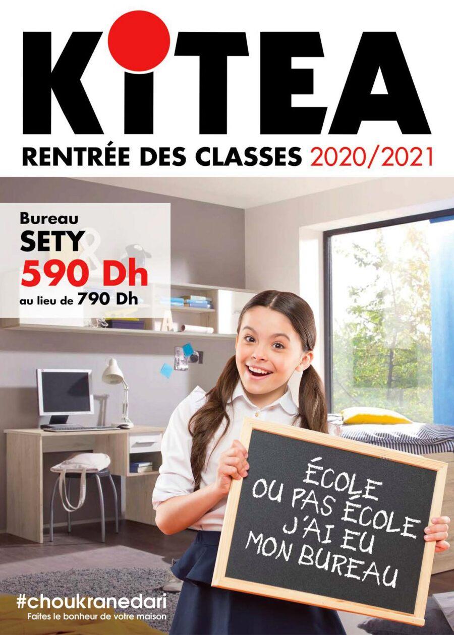 Catalogue Kitea Septembre 2020 Spéciale Rentrée Scolaire