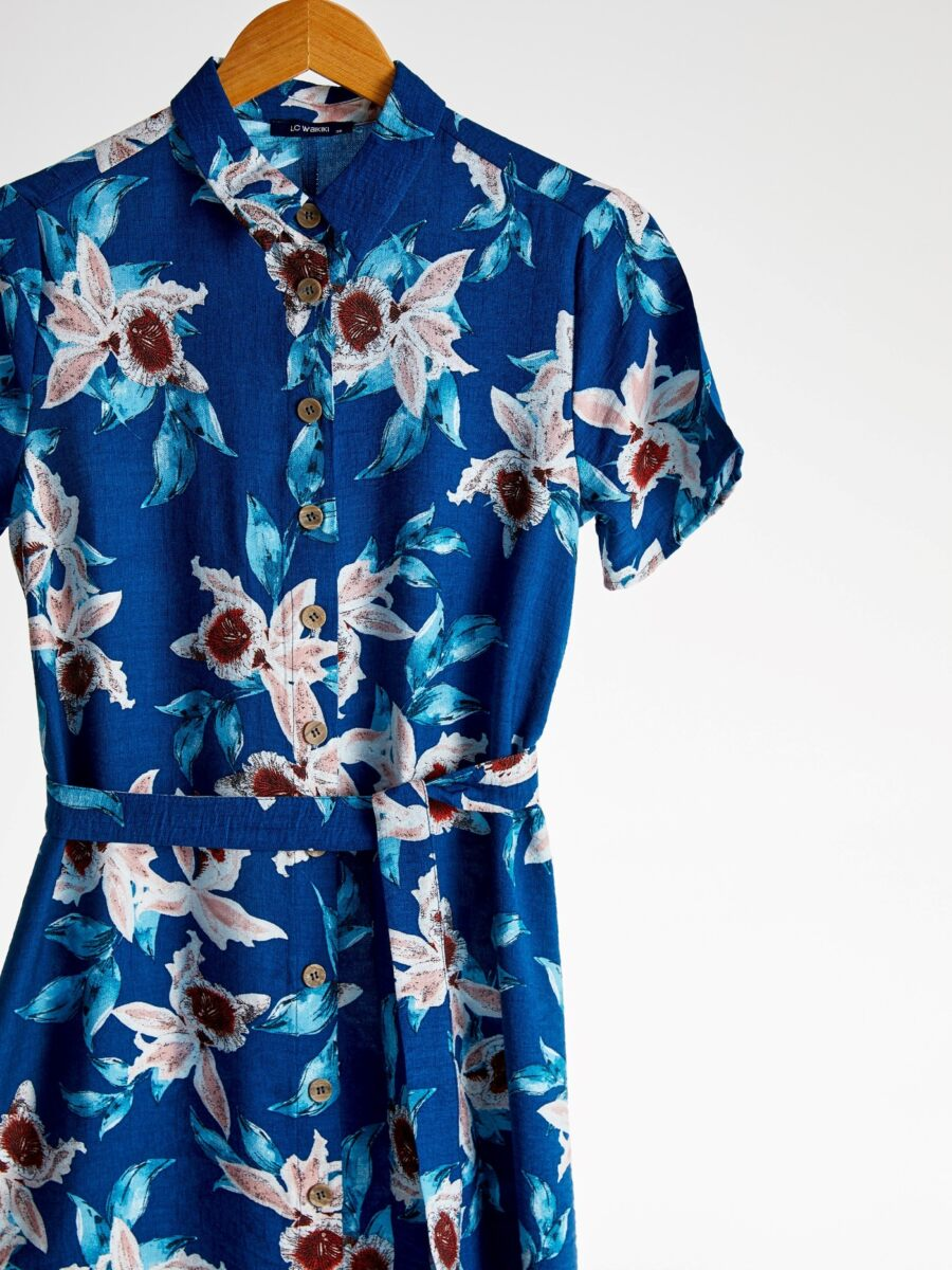 Promo LC Waikiki Maroc Robe d'été pour femme 189Dhs au lieu de 249Dhs