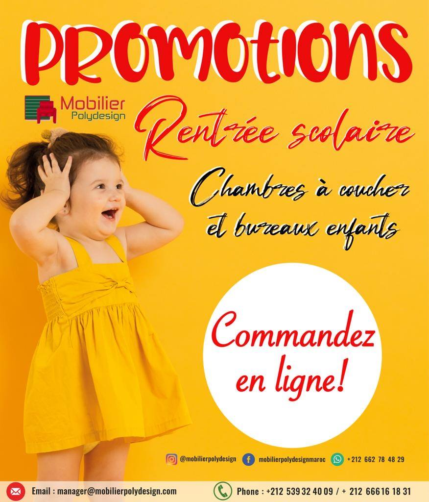 Catalogue Mobilier Polydesign Spécial rentrée Scolaire 2020