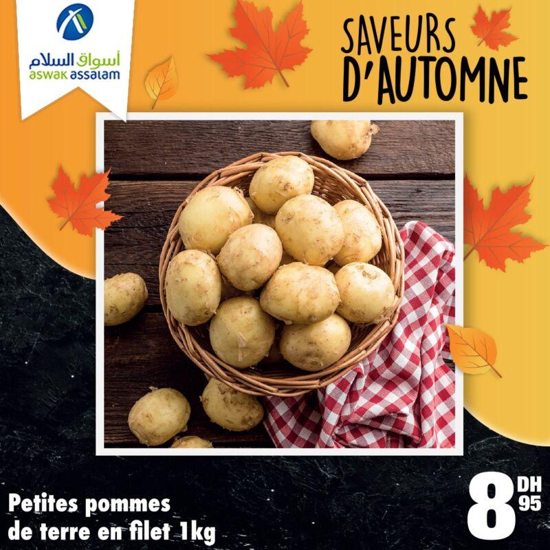 Offres Saveurs d'automne chez Aswak Assalam Fruits & Légumes