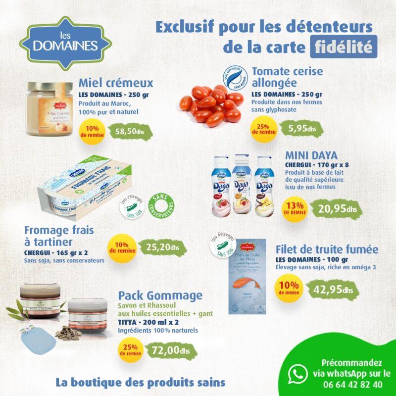 Catalogue Domaines Agricoles Offres Santé et fidélité du 15 au 30 Septembre 2020