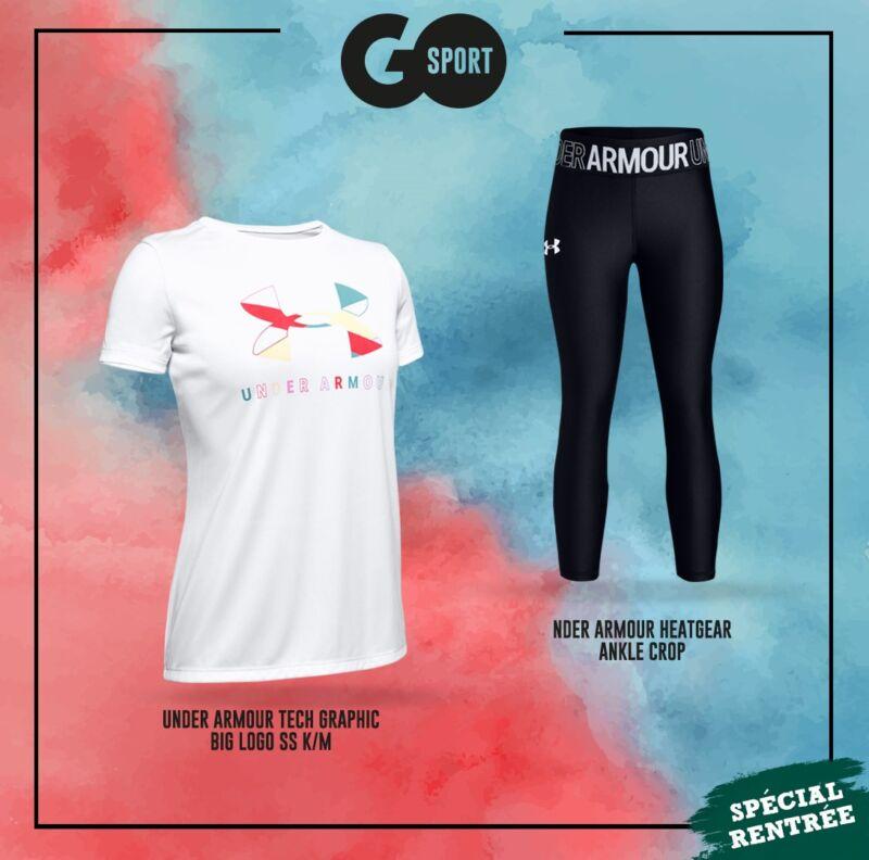 Nouvelle Collection et prix chez Go Sport Maroc Spéciale rentrée