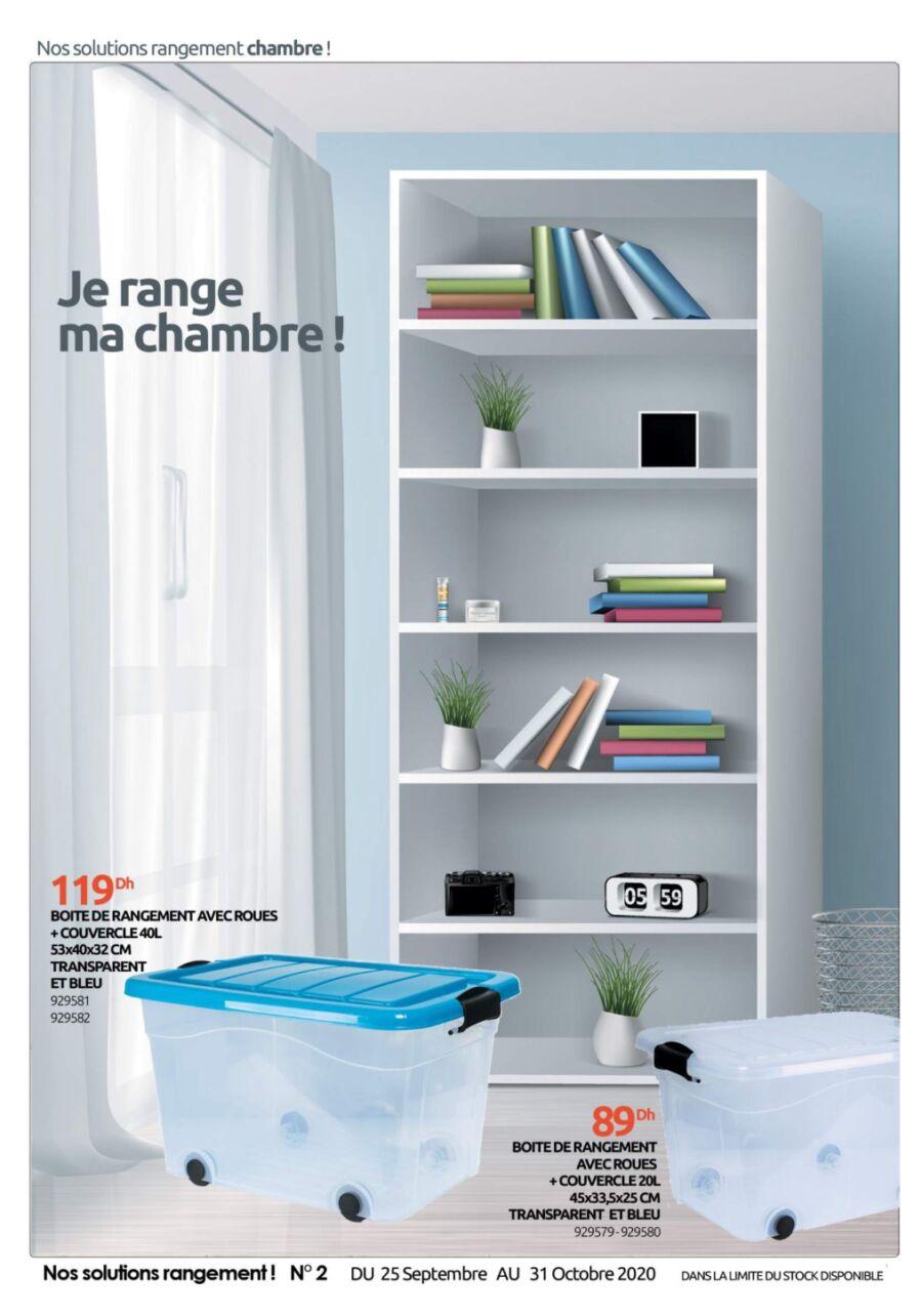 Catalogue Mr Bricolage Nos Solutions Rangement N°2 du 25 Septembre au 31 Octobre 2020