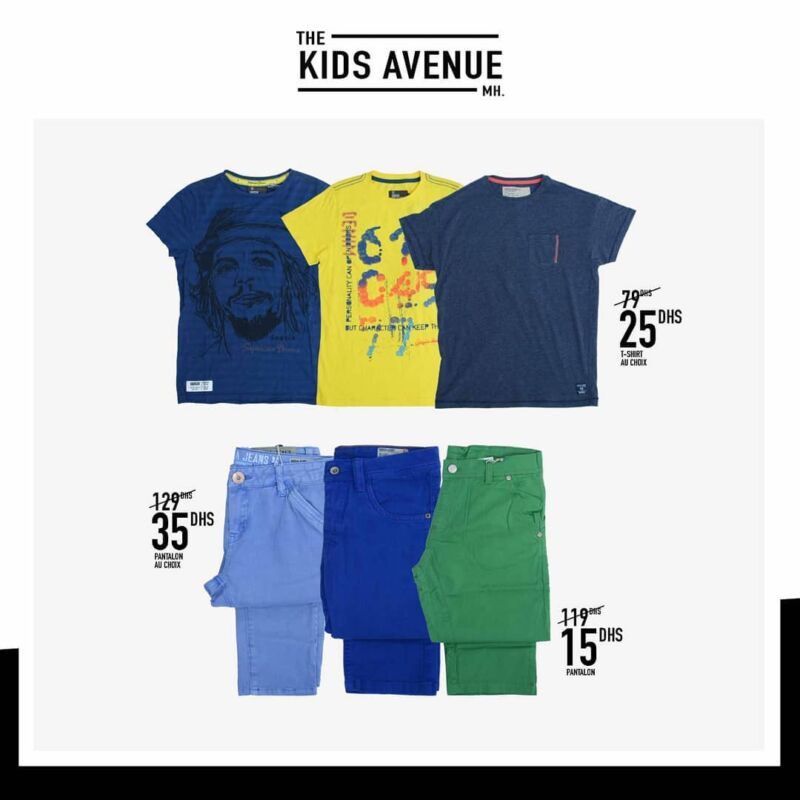 Promo Collection de vêtements enfants chez Kids Avenue The Kids avenue à Miro Home