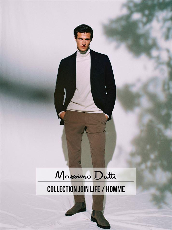 Lookbook Massimo Dutti Collection Join Life / Homme Valable Jusqu'au 16 Décembre 2020