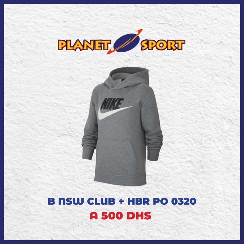 Offre Spécial Sweat à capuche chez Planet Sport Divers model