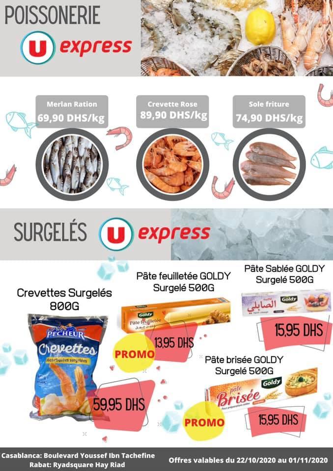 Catalogue U Express Maroc DES PETITS PRIX du 22 Octobre au 1 Novembre 2020