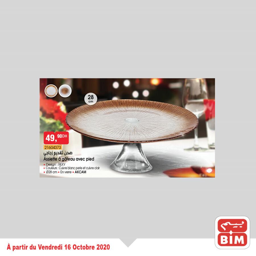 Catalogue Bim Maroc Vaisselles des Soirée du Vendredi 16 Octobre 2020