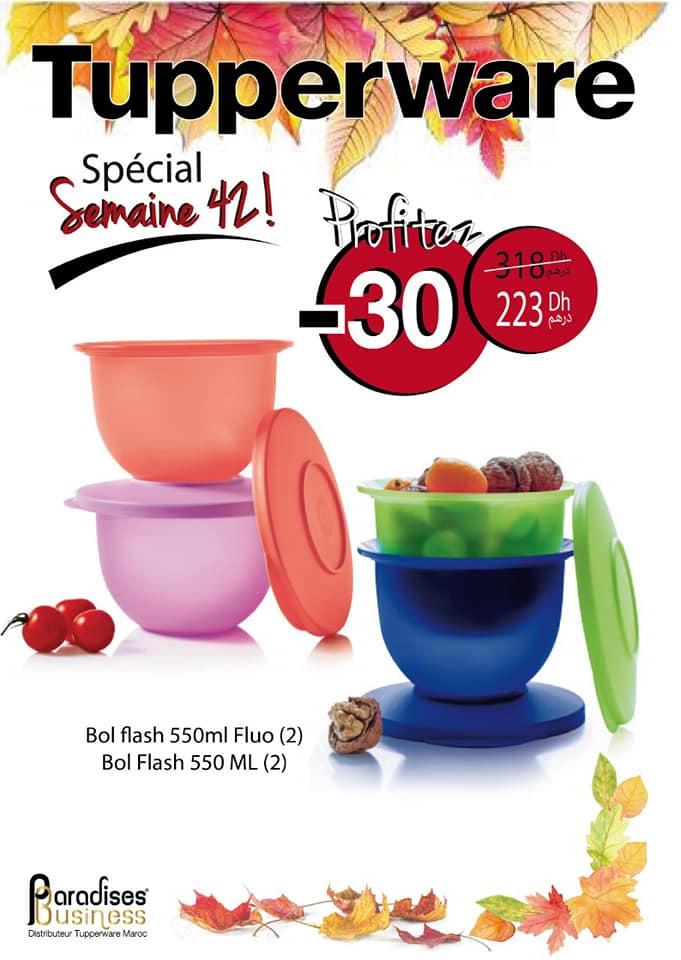 Catalogue Tupperware Maroc Spécial semaine 42 Jusqu'au 18 Octobre 2020