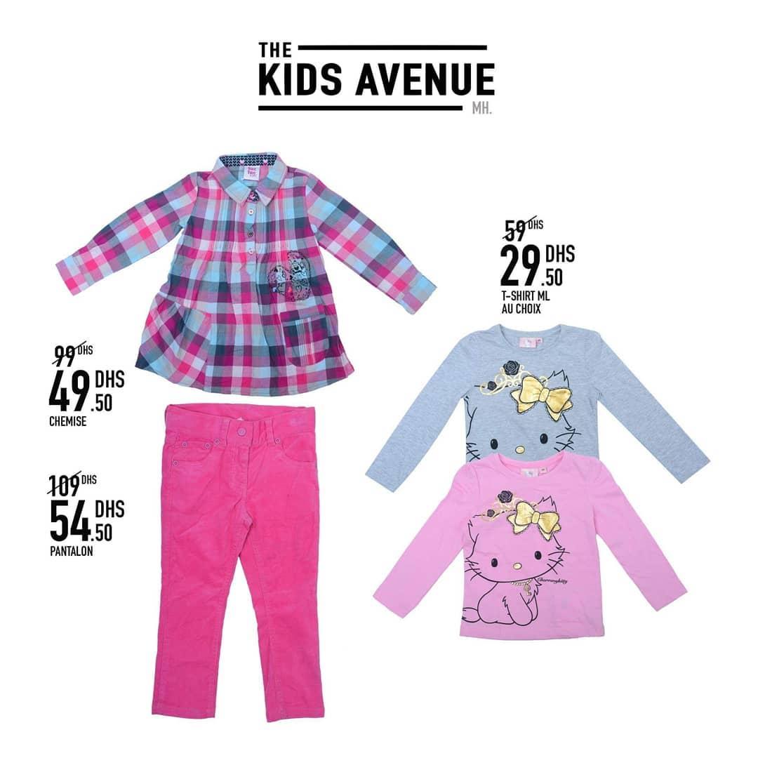 Promo Kids Avenue chez Miro Home -50% vêtements pour enfants