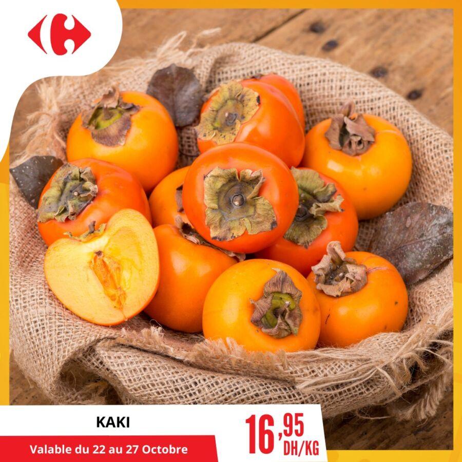 Offre Saisonnier chez Carrefour Market Valable Jusqu'au 27 Octobre 2020