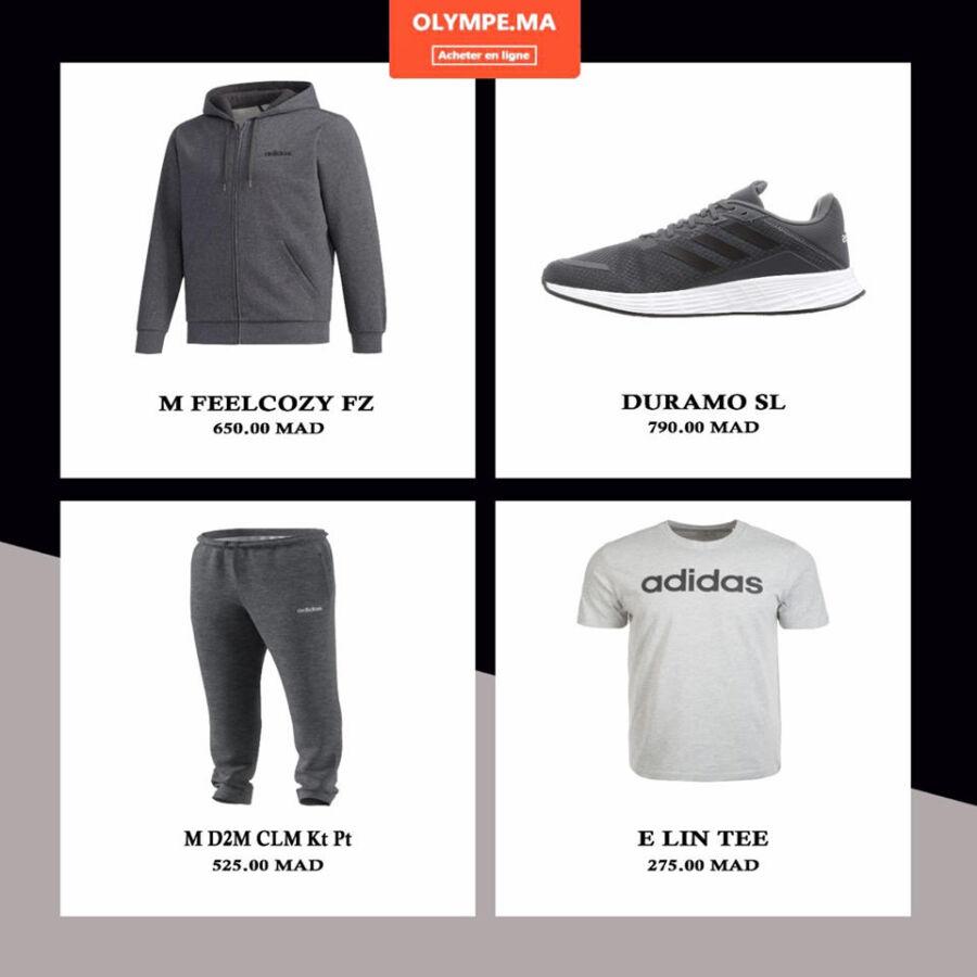 Offre de sport et lifestyle Article large choix chez Olympe Store