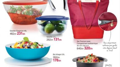 Catalogue promotionnel chez Tupperware Maroc Spécial Black Friday