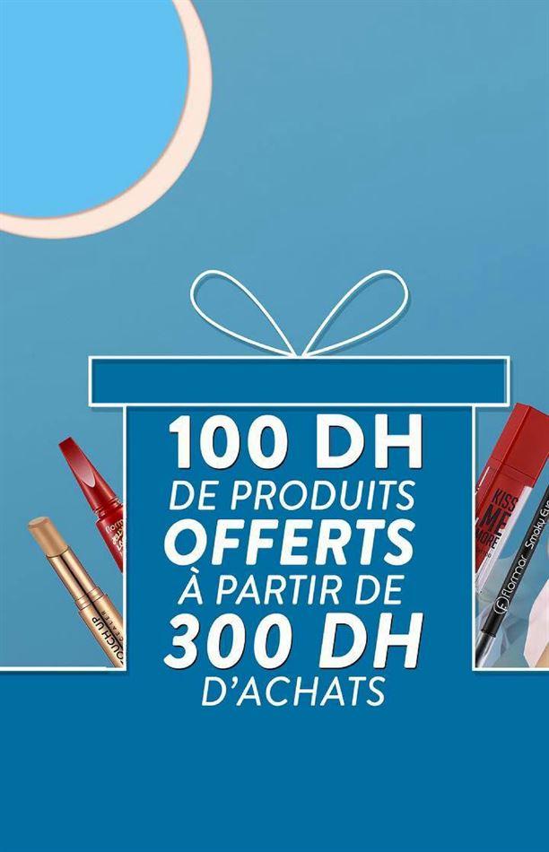 Offre Spéciale Flormar Maroc 100Dh de produits offerts dès 300Dhs d'achats